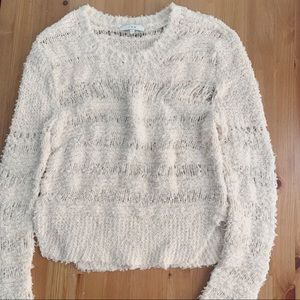 IRO Paris yaren open knit sweater